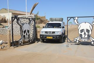 Entrada Skeleton Coast