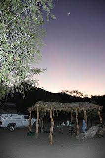 Noche de camping en Sesfontein