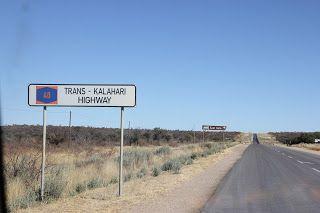 Señal Trans-Kalahari Hihgway