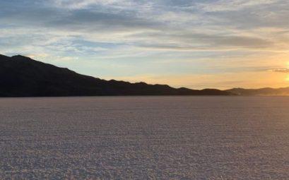 Puesta de sol Salar de Uyuni