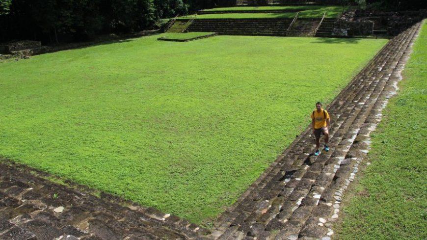 Plaza central Quirigua