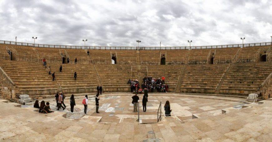 anfiteatro romano cesarea, israel