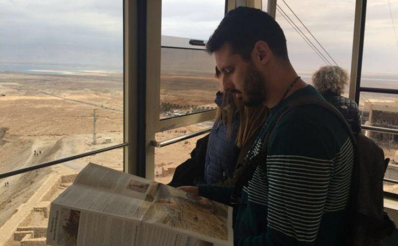 Subiendo a Masada, Israel