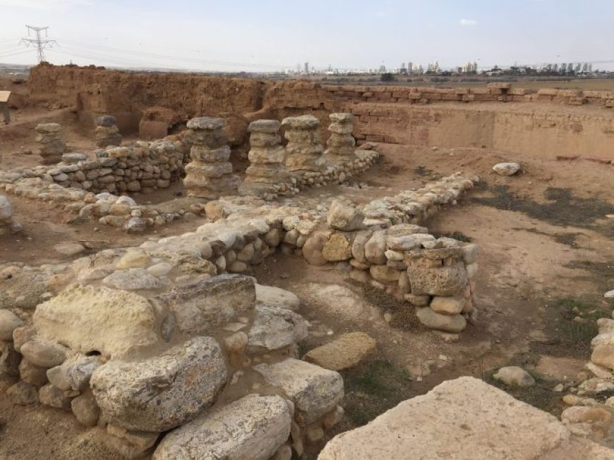 Ruinas Tel Beer Sheva, Israel