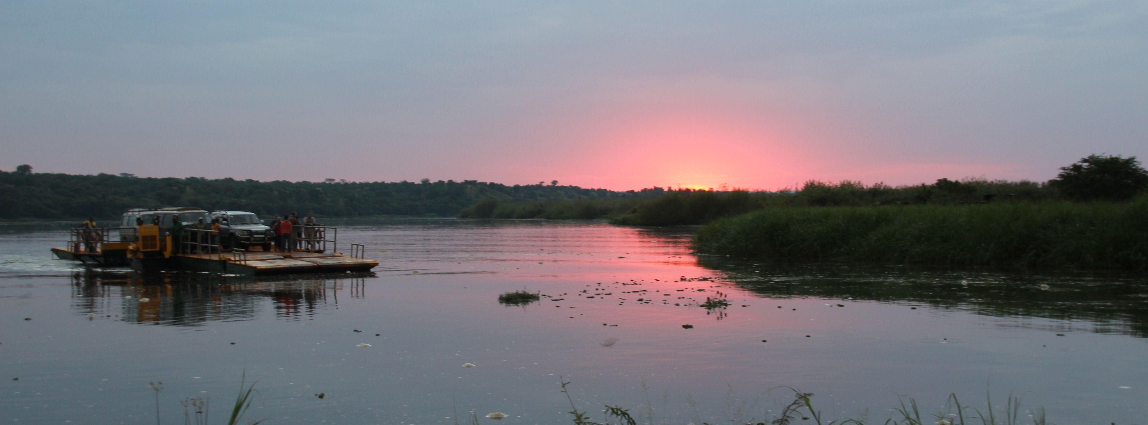 Nile River, Murchison Falls, Uganda