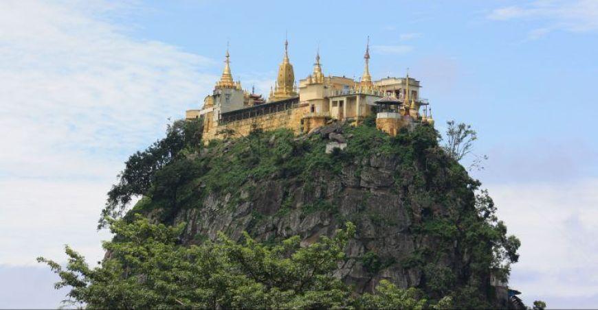 Monte Popa, viaje a Myanmar
