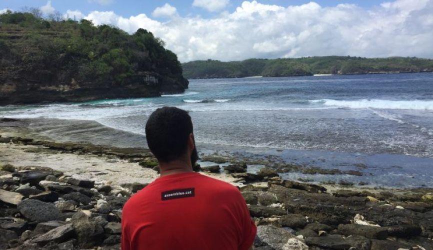 Secret beach, una de las playas más bonitas que ver en Nusa Ceningan