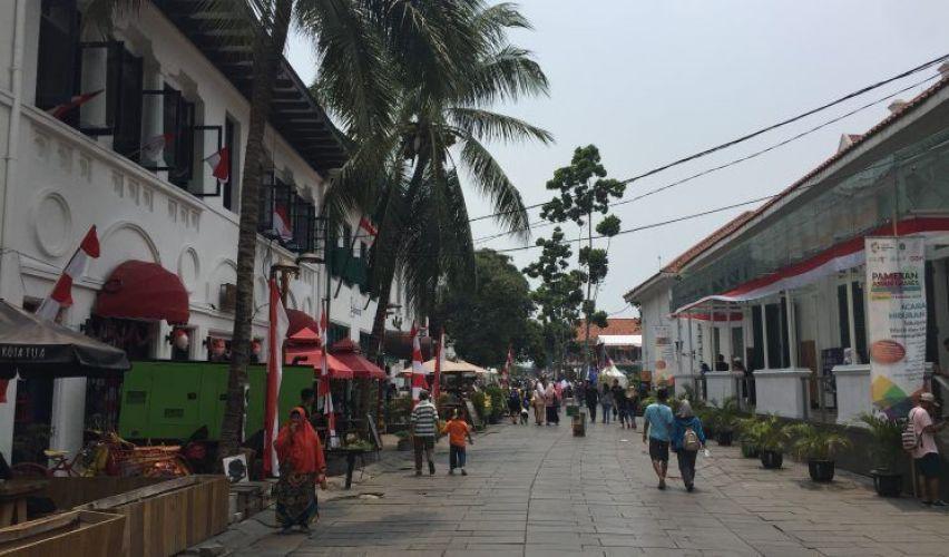 Kota Tua, el barrio más bonito que ver Yakarta
