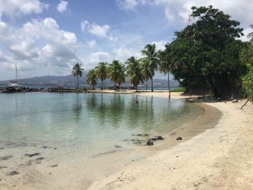 Playa Pointe du Bout, una de las mejores playas que ver en Martinica