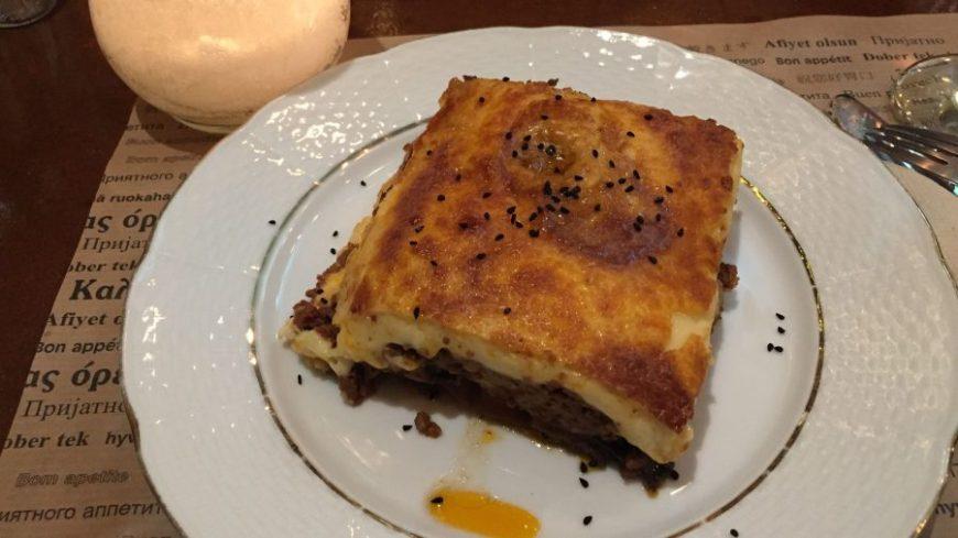 Mussaka, uno de los platos más famosos de la comida típica griega