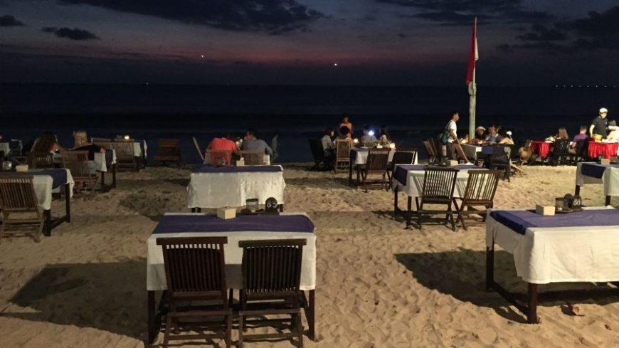 Jimbaran, una de las mejores playas de Bali