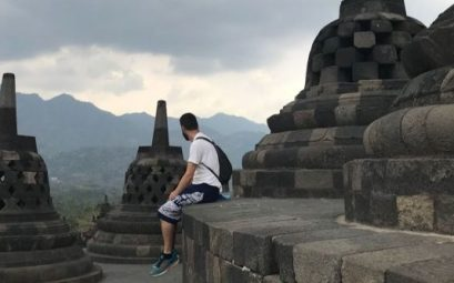 templo de borobudur en Indonesia