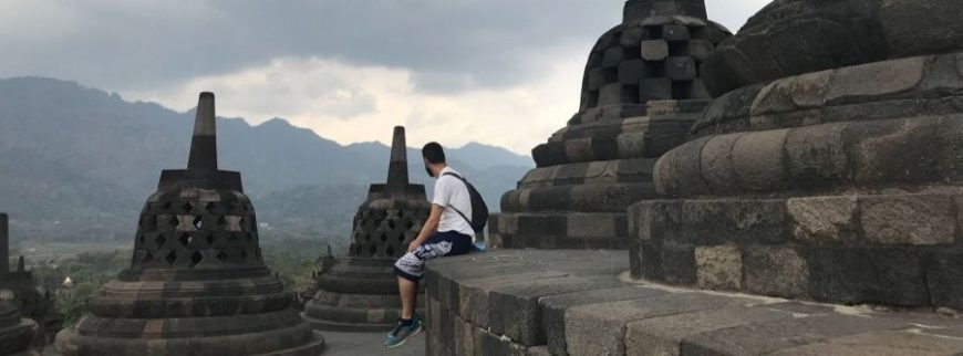 templo de borobudur, uno de los mejores momentos de un viaje a Indonesia