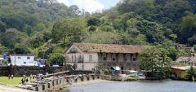El antiguo edificio de Aduanas, Portobelo, Panamá