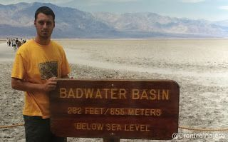 Badwater Basin Costa Oeste de Estados Unidos