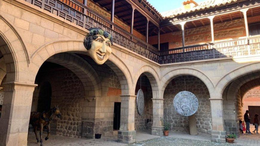 Patio interior de la Casa de la Moneda de Potosí