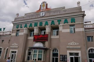 Estación tren Ulan Bator