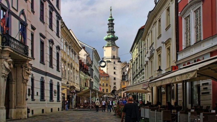 Puerta de San Miguel en Bratislava
