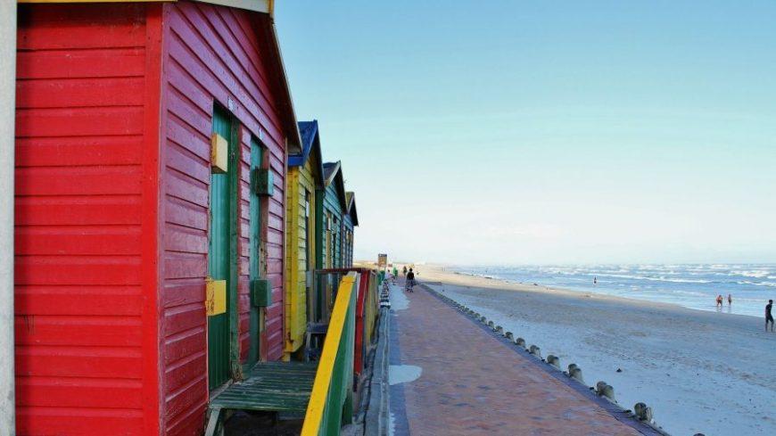 Muizenberg beach, la mejor playa que ver en Sudáfrica