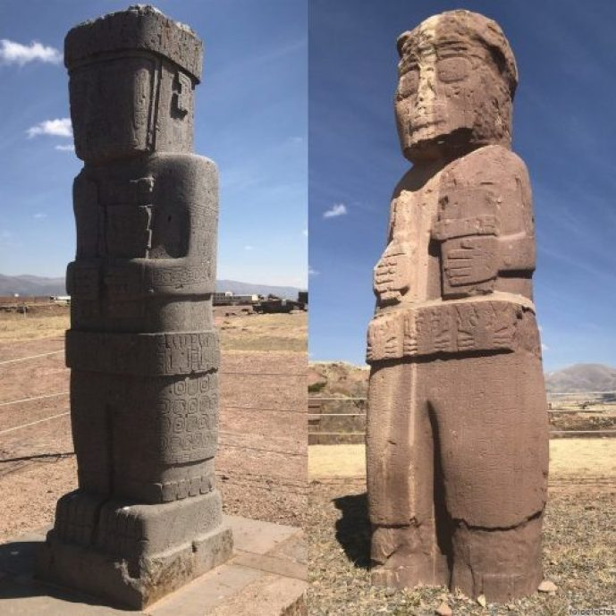 Monilitos de Tiwanaku
