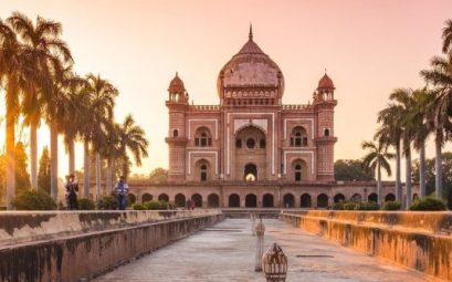 Tumba de Safdarjung en Nueva Delhi
