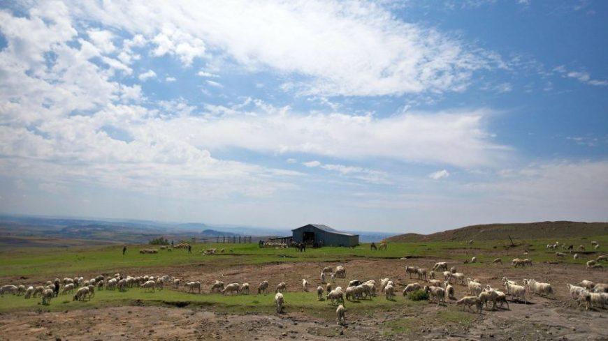 Paisaje de Lesoto