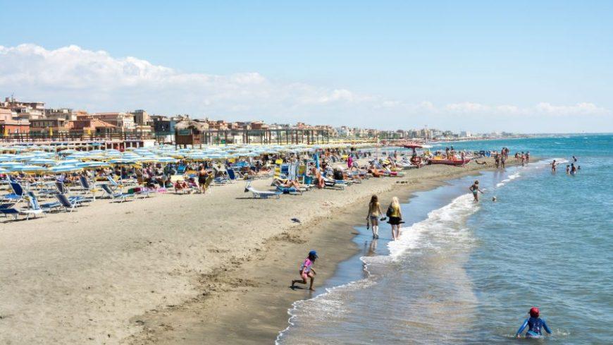 Ostia Antica, la playa de Roma
