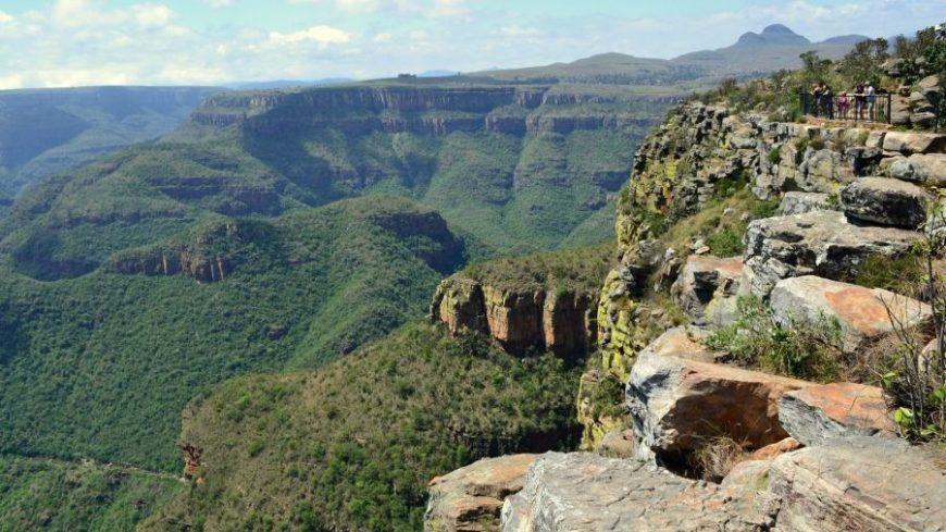 Cañón Río Blyde en Sudáfrica