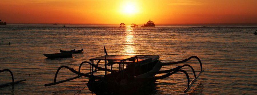 Nusa Lembongan puesta de sol