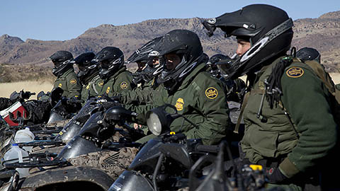 Border Patrol mission continues during shutdown even if