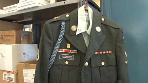 City of Mesa searching for owner of military uniform  Cronkite News