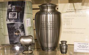 Messinger Mortuary urn