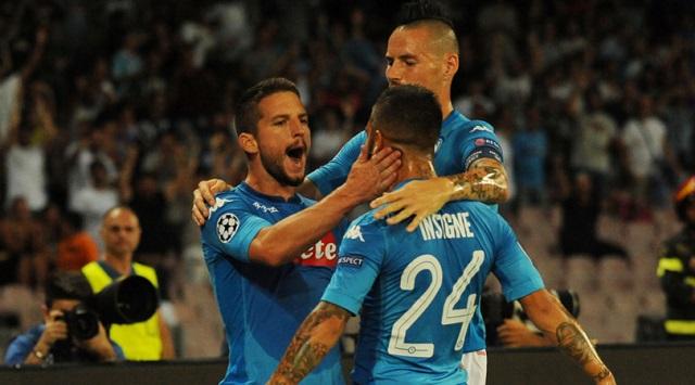 Preliminari Champions League: Napoli vs Nizza 2-0, di Mertens e Jorginho le reti vincenti