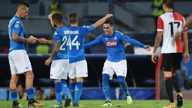 econdo turno Champions League, Napoli vs Feyenoord 3-1: ci pensano i tre bassotti azzurri