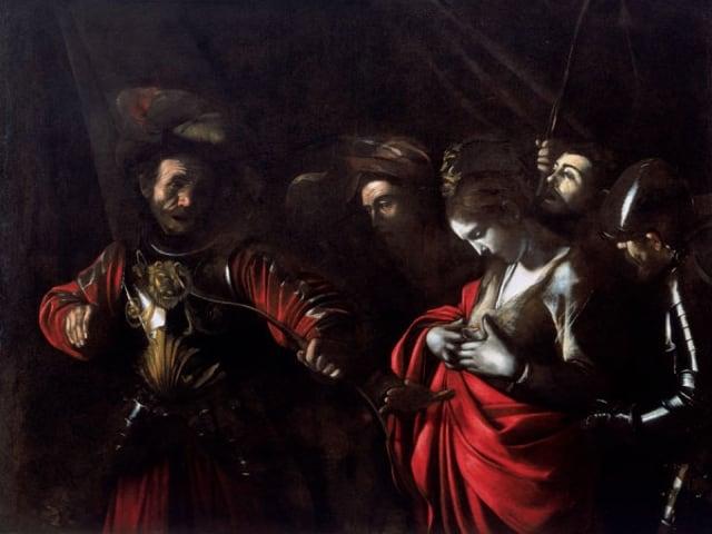 84 giorni Le ombre di Caravaggio, nuovamente a Palazzo Ricca, Napoli-3