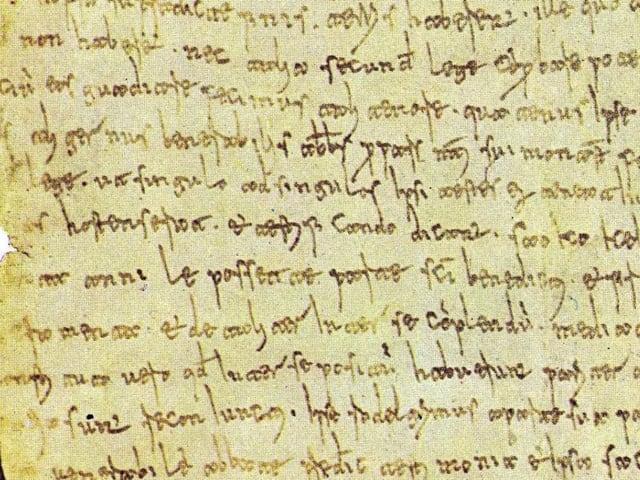 Placito Capuano, primo documento scritto in lingua volgare che testimonia la nascita dell'italiano-1