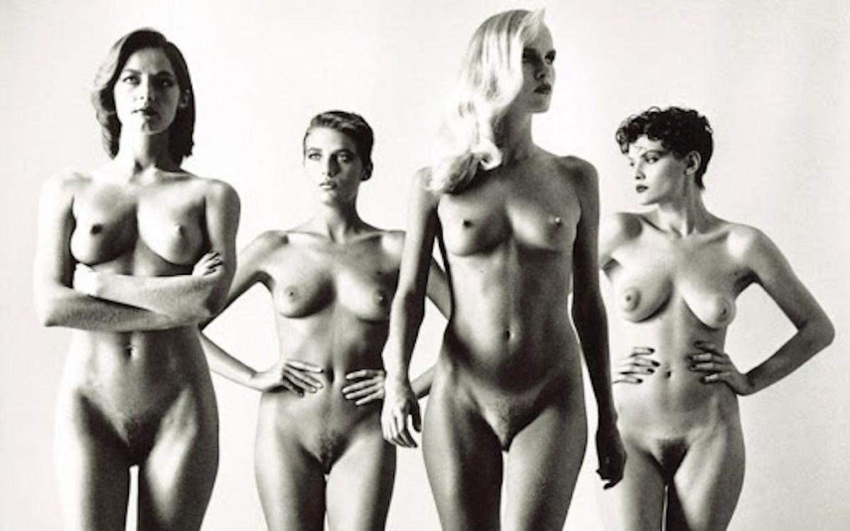 Helmut Newton -Big Nudes series