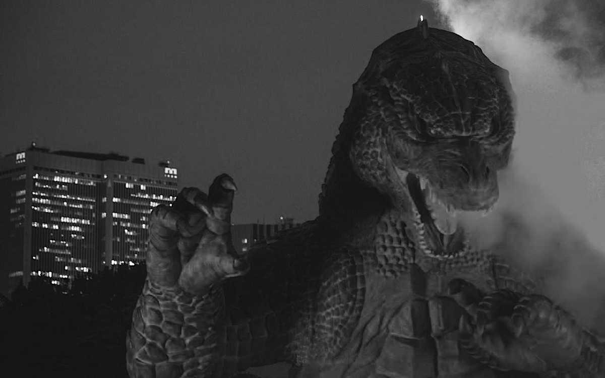 """Akira Ifukube il compositore della musica e creatore della """"voce"""" di Godzilla. @crono.news Doodle di Google."""