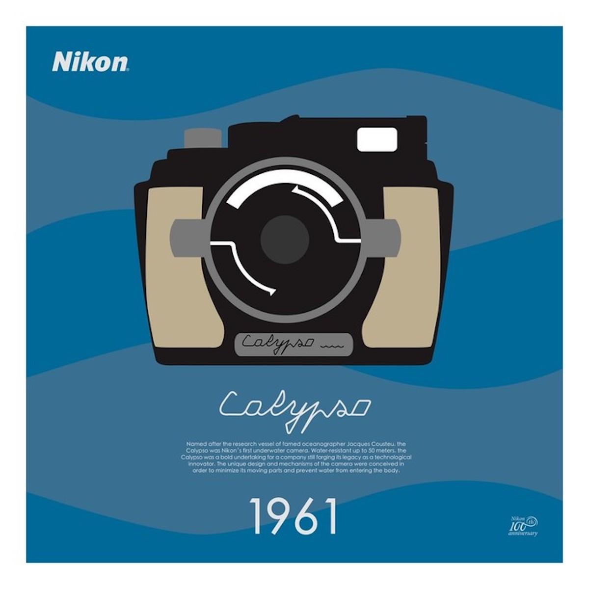 Calypso phot 1961  - celebrazione della Nikon