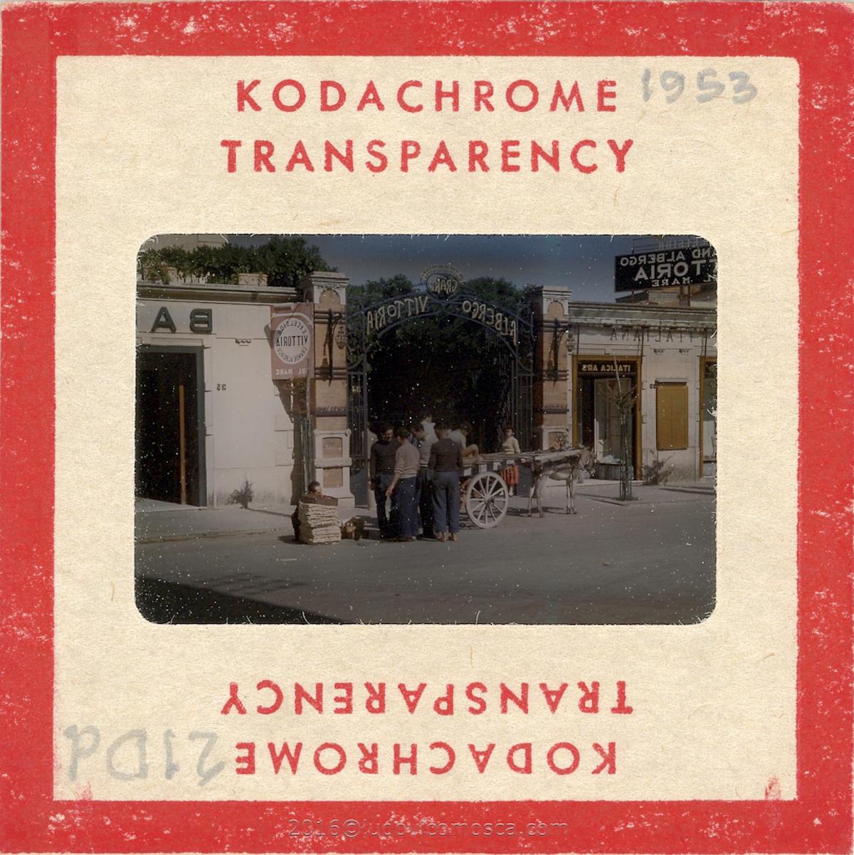Kodachrome diapositiva