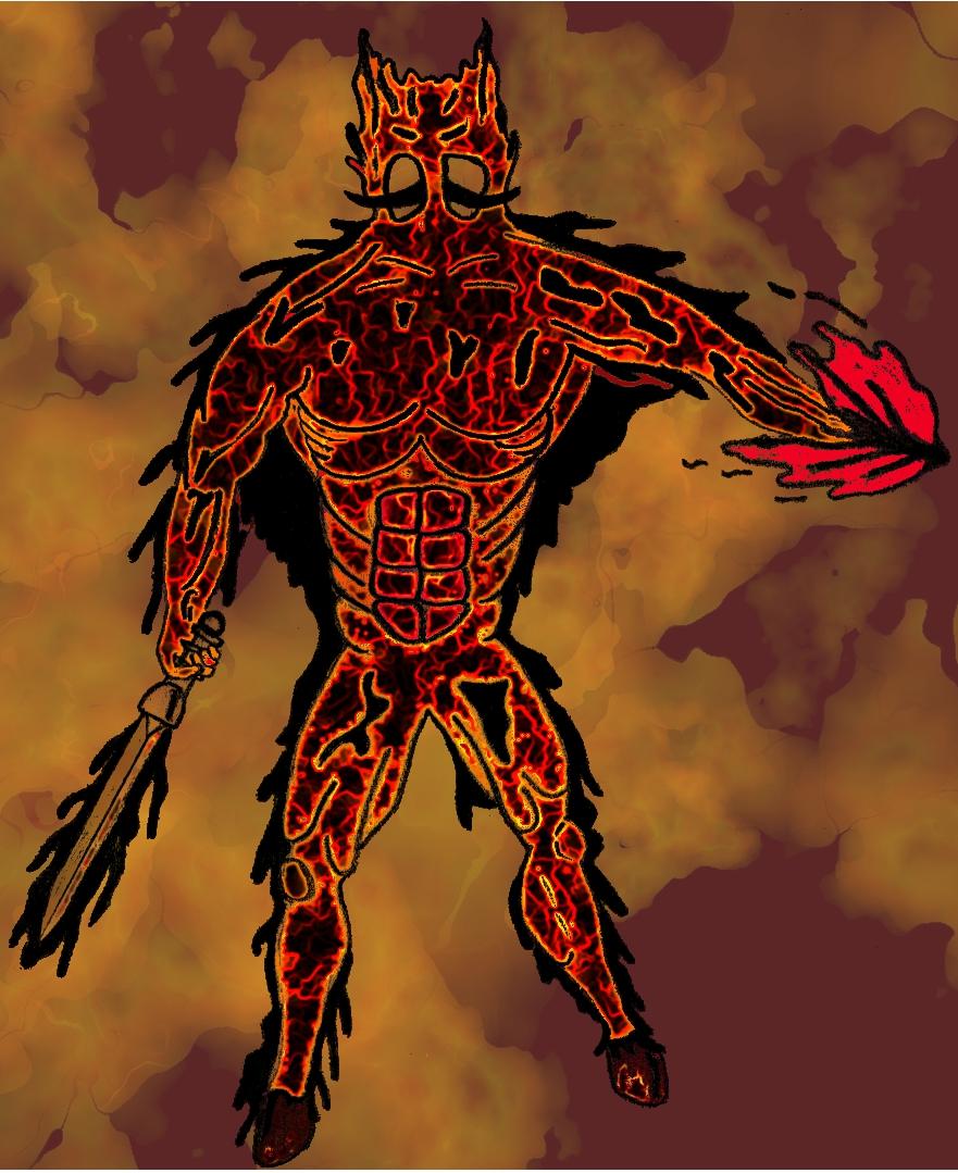 greater fire demon