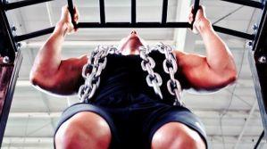 Como aumentar la masa muscular haciendo dominadas de brazos