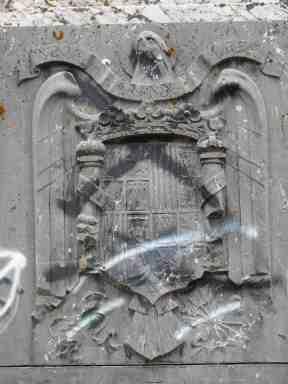 Monumento próximo a Campino (Burgos, julio de 2014)