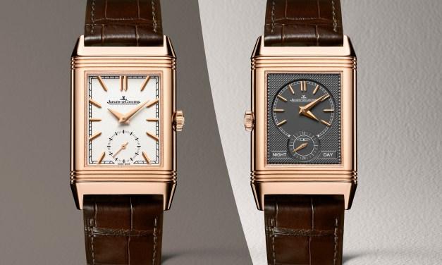 Dos nuevos modelos para la colección Reverso Tribute