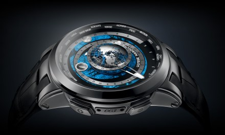 "Ulysse Nardin ""Executive Moonstruck Worldtimer"""
