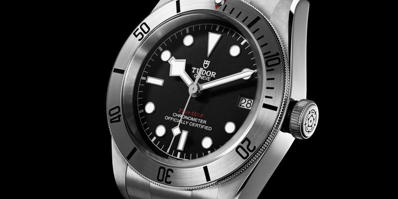 "Tudor ""Heritage Black Bay Steel"""