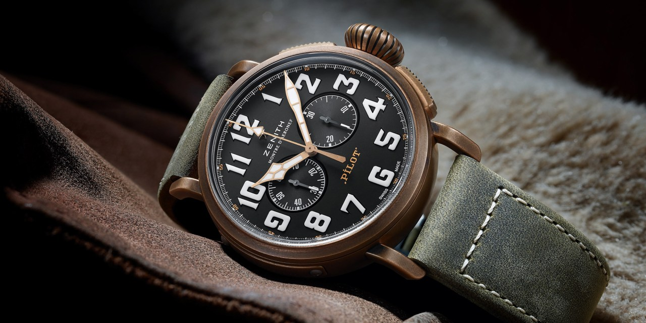 """Zenith """"the Pilot Extra Special Chronograph"""""""