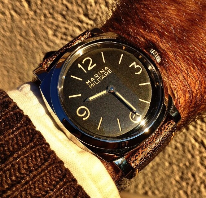 Marina Militare. The magic words of Panerai… Really?