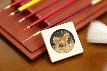 015 - the Urushi year of the dog dial once finished 3 copy