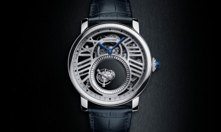 "Cartier ""Rotonde Skeleton Mysteious Double Tourbillon"""